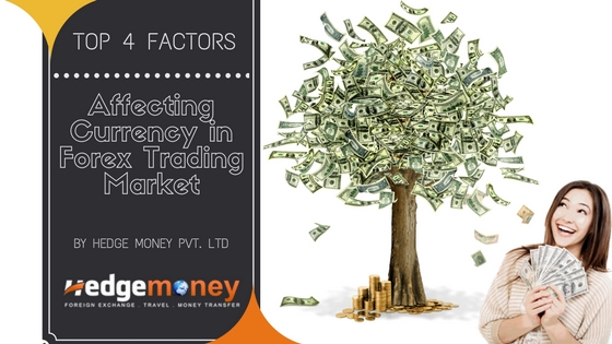Top 4 Factors Affecting Currency in Forex Trading Market